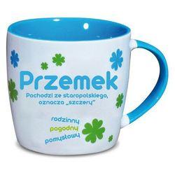 Nekupto, Przemek, kubek ceramiczny imienny, 330 ml
