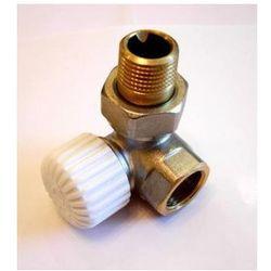 Zawór termostatyczny osiowy lewy z nastawą wstępną wyprodukowany przez Vario term