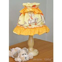MAMO-TATO Lampka Nocna Przyjaciele w pomarańczu z kategorii Oświetlenie dla dzieci