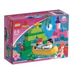 Lego Duplo MAGICZNA ŁÓDKA ARIELKI 10516, klocki do zabawy
