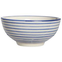 Ib Laursen - Casablanca Miseczka w paski niebieskie, kolor niebieski