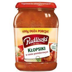 PUDLISZKI 600g Klopsiki w sosie pomidorowym (danie gotowe)