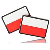 Helikon-tex / polska Naszywka helikon flaga pl (komplet - 2szt.) - pvc - standard (od-fpl-rb-20) (590826215429
