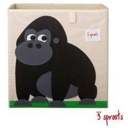 3 sprouts  pudełko na zabawki - goryl