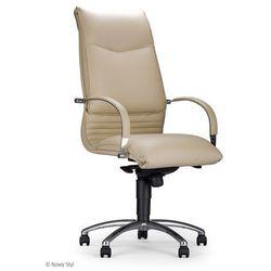 Nowy styl Fotel gabinetowy artus steel04 chrome