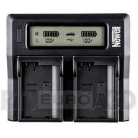 Newell Ładowarka LCD Dual Charger do NP-FP50 - produkt w magazynie - szybka wysyłka! z kategorii Ładowarki
