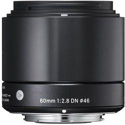 Obiektyw SIGMA A 60/2.8 DN Sony-E Czarny + DARMOWY TRANSPORT! - sprawdź w wybranym sklepie