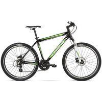 Rower INDIANA X-Pulser 2.6 M17 Czarno-Zielono-Biały Połysk BP + DARMOWY TRANSPORT! + 5 lat gwarancji