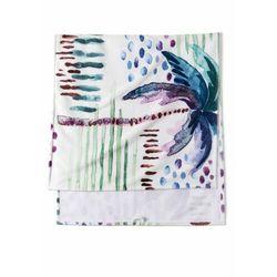 Ręcznik kąpielowy z nadrukiem palm kolorowy marki Bonprix