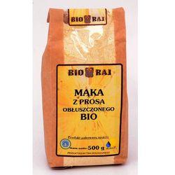 Mąka jaglana z prosa obłuszonego BIO 500g - Bio Raj - produkt z kategorii- Mąki
