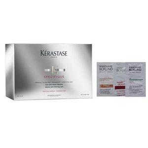 Kerastase Specifique Aminexil Intense Anti-Thinning Care | Kuracja zagęszczającza włosy - 42x6ml + Losowo dobrana próbka gratis! (3474636397549)