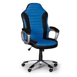 Fotel biurowy SPORT, czarno-niebieski