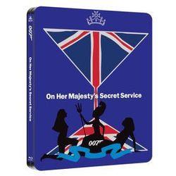 007 W tajnej służbie Jej Królewskiej Mości (Steelbook) (BD) z kategorii Filmy przygodowe