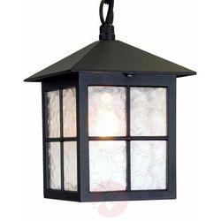 Lampa zwis winchester bl18b black ip43 - lighting - sprawdź mega rabaty w koszyku! marki Elstead