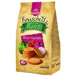 70g chrupki chlebowe mix warzyw | darmowa dostawa od 200 zł, marki Bruschette maretti