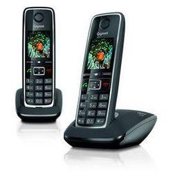 Telefon domowy Siemens C530 IP (S30852-H2506-R601) Czarny z kategorii Telefony stacjonarne