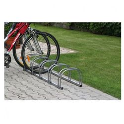 Dwustronny stojak na rowery - 5 rowerów, marki B2b partner