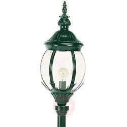 Klasyczna latarnia Janeiro, zielona
