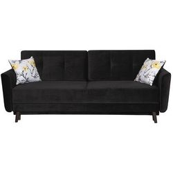 Sofa hampton marki Black red white