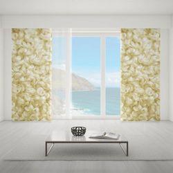 Zasłona okienna na wymiar - WHITE PIECE OF CARPET II