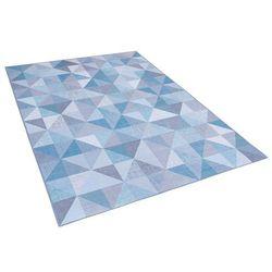 Beliani Dywan niebiesko-szary 160 x 230 cm krótkowłosy kartepe