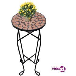 Vidaxl kwietnik, stolik z mozaikowym blatem (8718475874522)