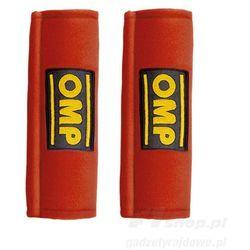 Nakładki 3- calowe na pasy OMP DB450-3 czerwone