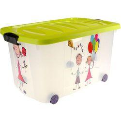 Skrzynia na kółkach kids - pojemnik na zabawki marki Emako