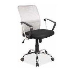 Fotel Q-078 szaro-czarny - ZADZWOŃ I ZŁAP RABAT DO -10%! TELEFON: 601-892-200