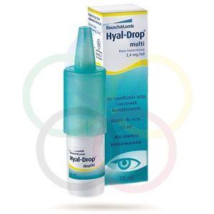 Hyal Drop Multi - krople do oczu i soczewek 10 ml, 157