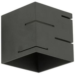 Lampex Kinkiet quado modern a czarny - czarny