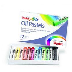 Pastele olejne Pentel 12 kolorów - produkt dostępny w Biurwa.pl
