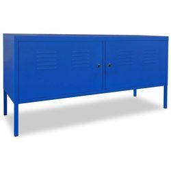 Szafka pod telewizor, 118 x 40 x 60 cm, niebieska marki Vidaxl