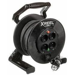 Przedłużacz Zwijany X-Reel 20M OW3x2,5 4GS IP20