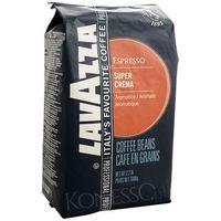 Kawa włoska  blue super crema 1kg ziarnista marki Lavazza