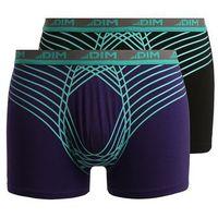 DIM ULTIMATE 2 PACK Panty violet auburn/noir, bawełna