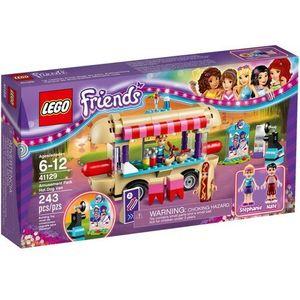 LEGO Friends, Furgonetka z hot-dogami w parku rozrywki, 41129