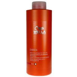 enrich moisturising - szampon nawilżający do grubych włosów 1000ml od producenta Wella