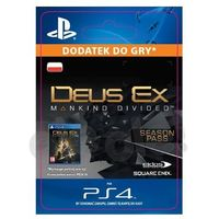 Sony Deus ex: rozłam ludzkości - season pass [kod aktywacyjny] (0000006200074)
