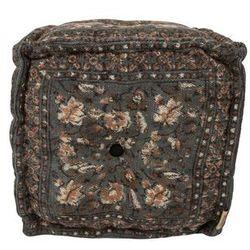 pufa indian block szara 3300021 marki Dutchbone