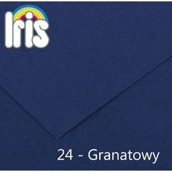 Brystol  Iris B1/240g granatowy 25ark., Canson
