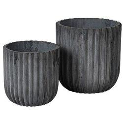 Broste copenhagen Komplet donic fiber, 37 cm, czarny - (5710688153992)