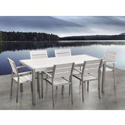 Aluminiowe meble ogrodowe białe VERNIO (4260580924004)
