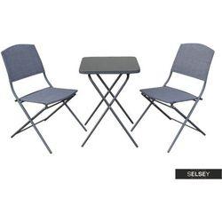 SELSEY Zestaw ogrodowy Dolore stół z dwoma krzesłami (5903025284026)