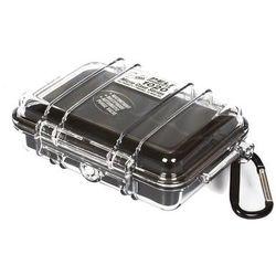 Peli microcase 1020 pudło czarny/przezroczysty 2018 skrzynie transportowe (0019428081416)