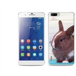 Foto case - huawei honor 6 plus - etui na telefon foto case - brązowy królik, marki Etuo.pl