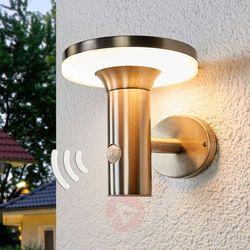 Solarny kinkiet LED Eliano, z czujnikiem ruchu (4251096542516)