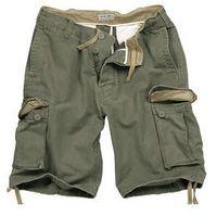 Surplus / niemcy Szorty surplus vintage shorts washed - olive (07-5596-61)