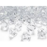 Kryształowy lód bezbarwny - 2,5 x 2,1 cm - 50 szt. (5901157431097)