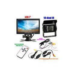 """Bezprzewodowa Kamera Cofania/Parkowania do Tira, Busa, Campera.. + Monitor LCD 7"""". - produkt dostępny"""